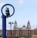 The Albert Dock & The Liver building