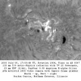 Flare in Active Region 0397