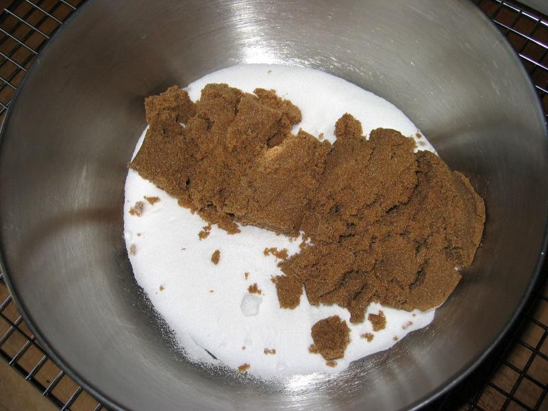 1 cup sugar & 1 cup brown sugar