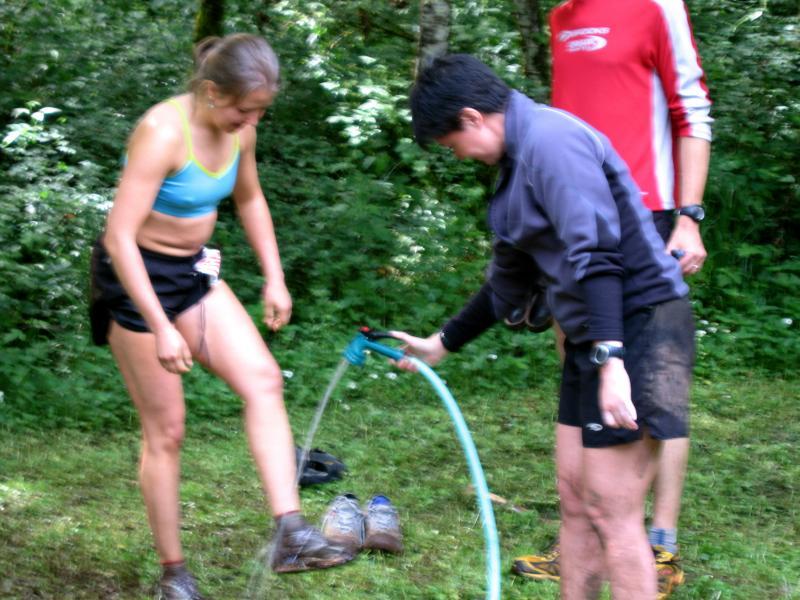 ...wash off the mud