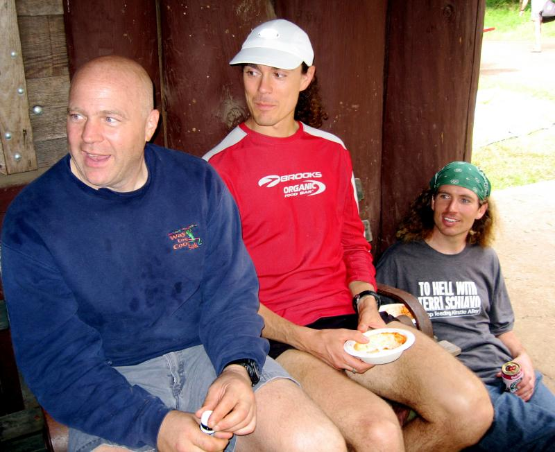Big Steve, Scott Jurek & Dusty Olson