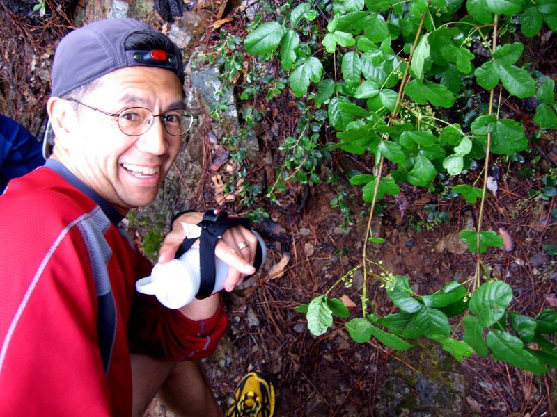 Don loves the poison oak