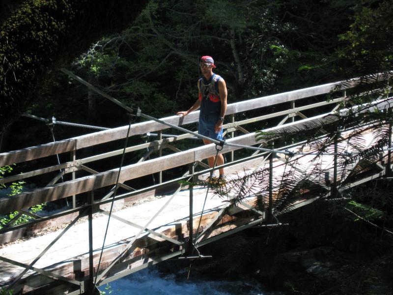 Bill on the Swinging Bridge