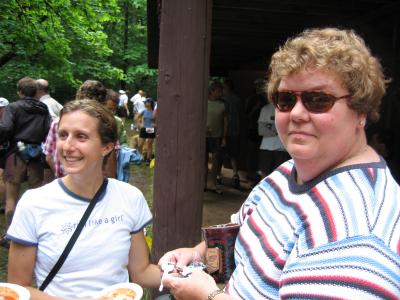 Krissy Sybrowsky & Peggy Moehl