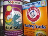 Sea salt & baking soda