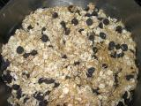 Stir in oats & chocolate chips