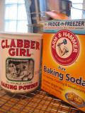 Sift 1 tsp baking powder & 1/2 tsp baking soda...