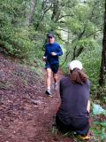 Scott videotapes our running formHere's Marty