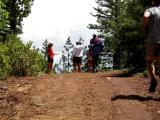 Start of the run down El Dorado Canyon