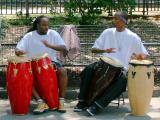 Jazz Ensemble - Two Bongo Players