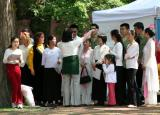 Singers at the Falun Gong Day Celebration