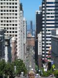 California Street From Nob Hill
