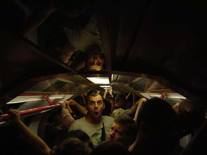 Taking the Tube to Notting Hill Festival