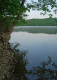Early morning at Burr Oak Lake