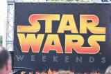 Star Wars weekend sign