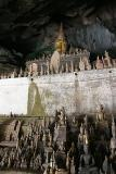 Hundreds of Buddas at Tham Ting Cave