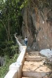 Stairs to Tham Phum Cave