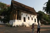 Temple at foot of Phu Si
