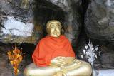 Smiling Budda at Phu Si