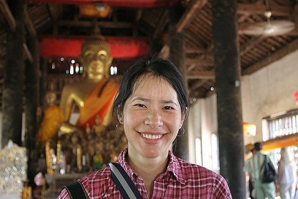 Jane in Wat Wisunalat
