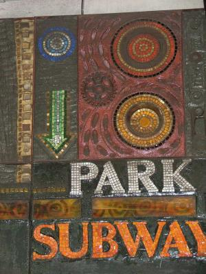 Park Subway Mosaic