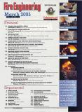 Fire Engineering Magazine (pg. 4) March 2005