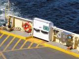 Evacuation slide unit