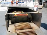 Life raft locker