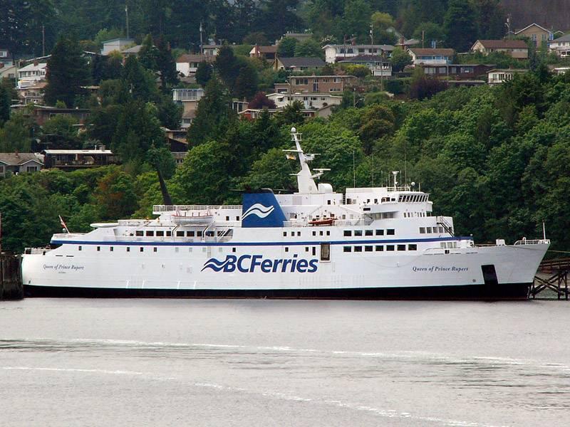 Queen of Prince Rupert at Departure Bay