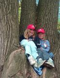 TWO GIRLS In The Great Tree