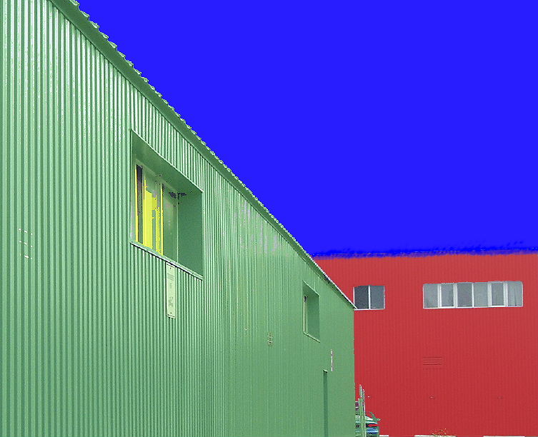 GREEN , BLUE , RED