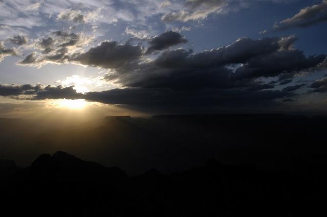 Grand Canyon South Rim - Sunset