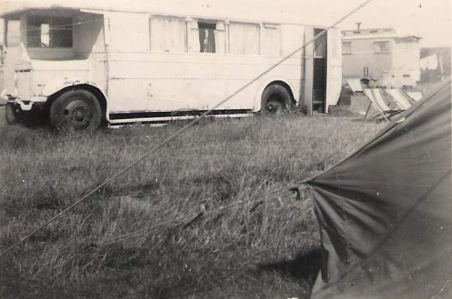 Converted Caravan at Leysdown