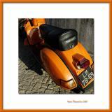 Orange scooter, Cascais