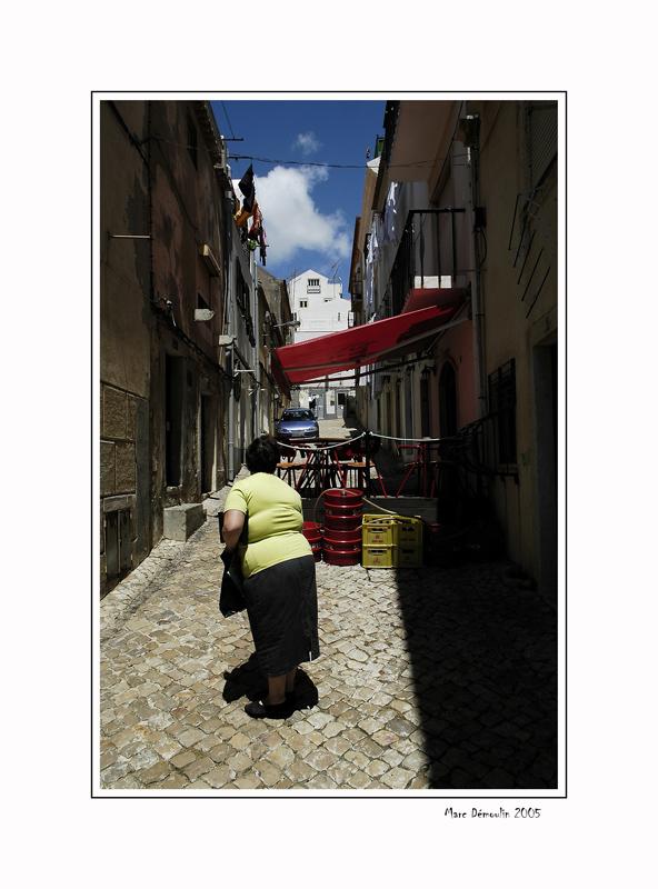 Street of Sesimbra