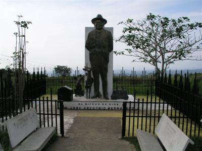 Estatua de José Gregorio Hernández,  Isnotú, Edo. Trujillo