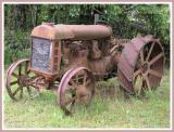 Steel wheeled oldie.