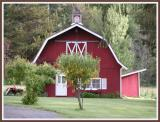 The red paint salesman has the barn market cornered.