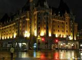 Chateau Laurier  At Night