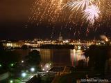 Fireworks Over Ottawa River