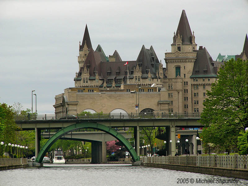 Chateau Laurier From Rideau Canal