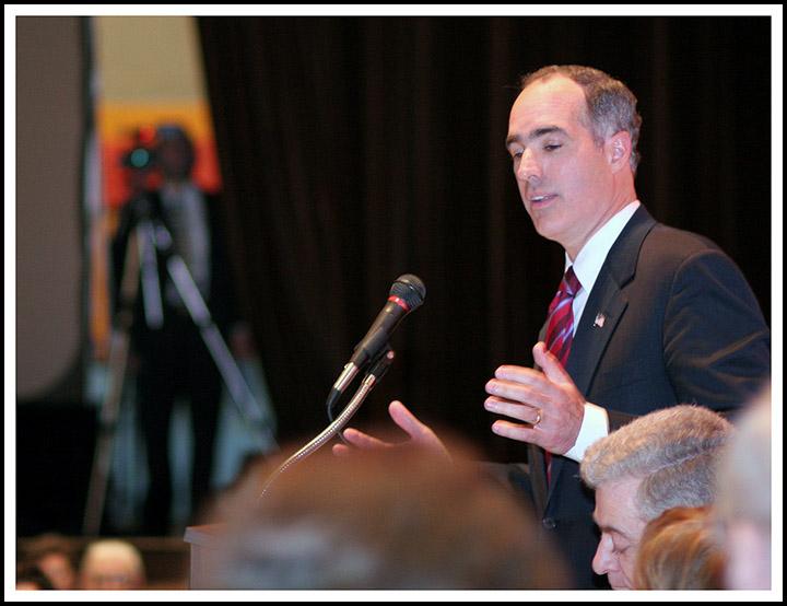 Robert Casey Jr. at The Americanism Award Dinner Honoring Joseph Corcoran