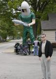 Gemini Man at the Launching Pad in Wilmington
