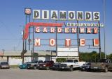 Diamonds Restaurant is a Used Car Lot