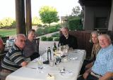 Dinner at Las Campanas with our Hosts and friends
