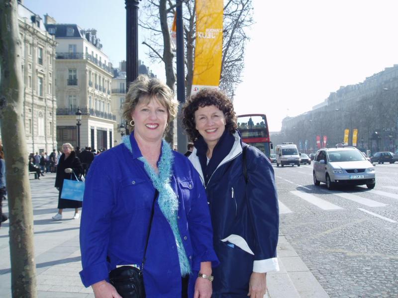 Karen and Cheryl