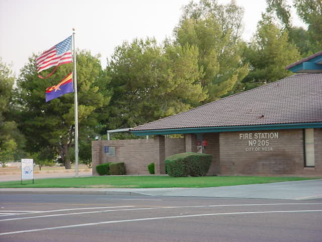 Fire Station No 205 city of Mesa Arizona