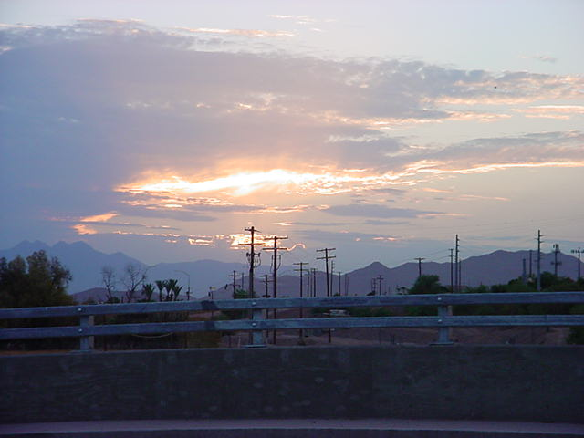 famous Arizons sunrise