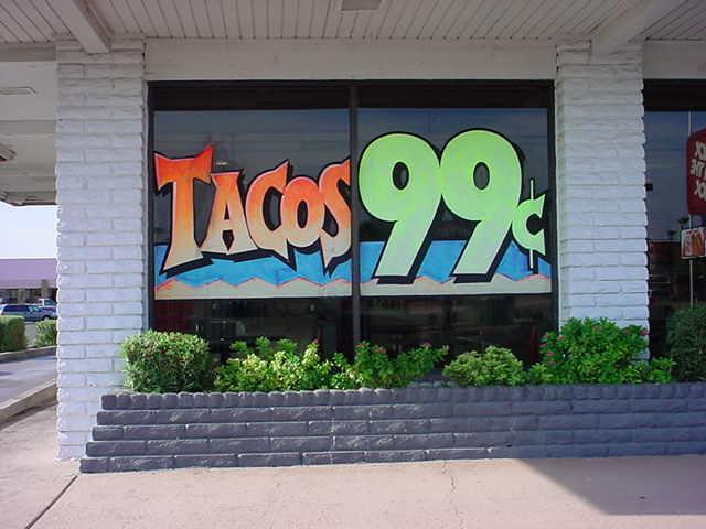 Tacos 99 cents Mesa<br> Main & Lindsey road