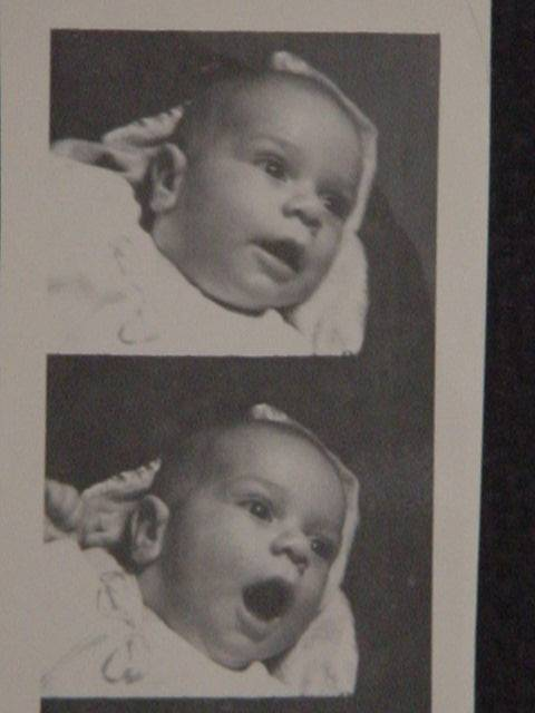 Jeffrey as a newborn